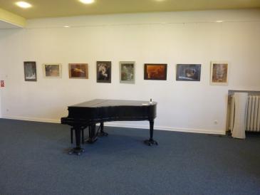 Ausstellung 2014 Makrofotographien von Feuersteinen