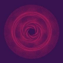 Raumgeraden Erde-Venus-Venusrotation, rosenartige Figur