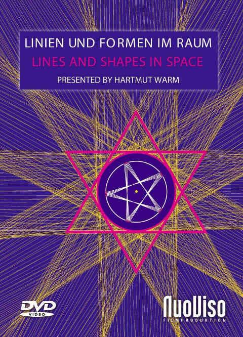 DVD Cover Linien  und Formen im Raum