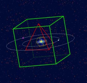 Keplers Mysterium Cosmographicum im Programm Die Signatur der Sphären, Bild 1
